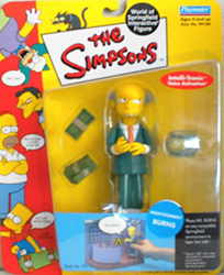 Mr. Burns Action Figure in Package
